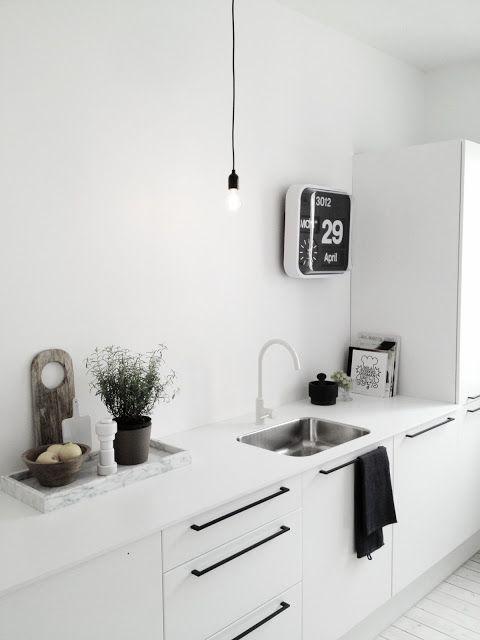 #kitchen #scandinavian #style www.barefootstyling.com