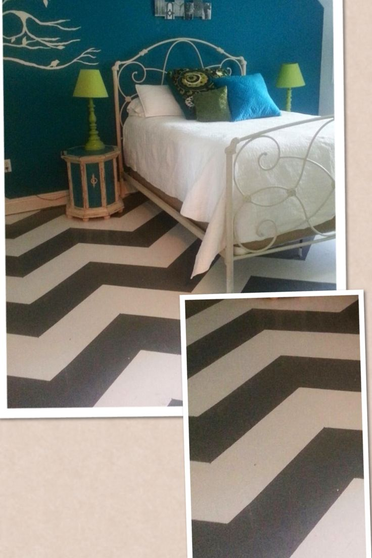115 Best Images About Painted Subfloor Ideas On Pinterest