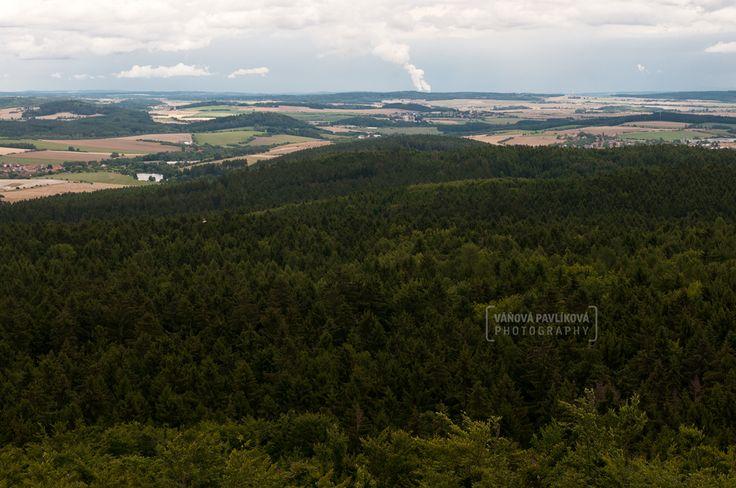 Štěměchy -  View of Lookout tower Mařenka https://www.google.com/maps/d/edit?mid=1megWioSlBxOtoyxeCINYrFYC8Pc&ll=49.196348569505254%2C15.677070623110921&z=17