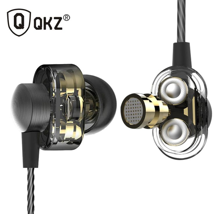 Cheap price US $13.12  Earphones QKZ DM8 Mini Dual Driver Extra Bass Turbo Wide Sound gaming headset mp3 DJ Field Headset fone de ouvido auriculares  Get here: Xiaomi