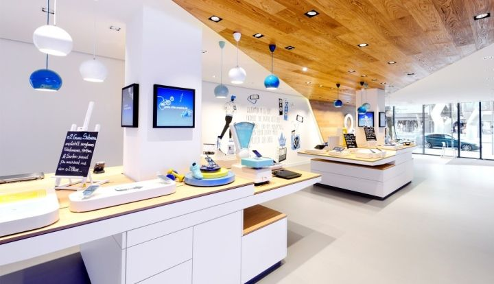 O2 Live Concept Store by hartmannvonsiebenthal, Berlin telecommunication