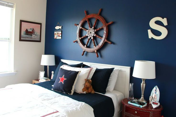 inspiring nautical themed bedroom ideas | Pin by Nantucket Brand Clothing Co on Nautical Bedroom ...