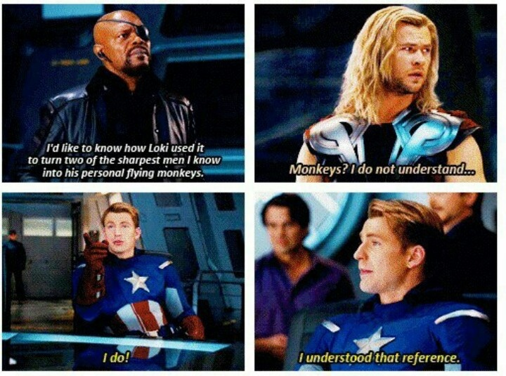 And the award goes to Captain America