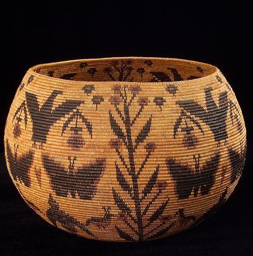 Woven Basket Art : Best art baskets images on basket
