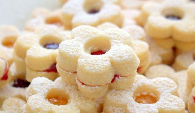 Snadné vanilkové cukroví