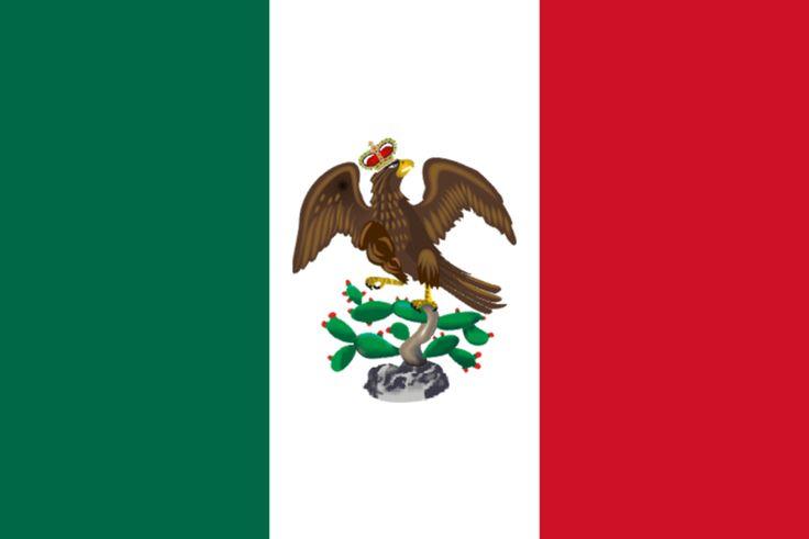 Bandera de Iturbide