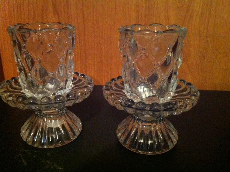 colonial candle co crystal candle holder wquilted votive holder set of 2 i