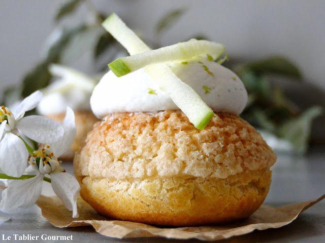 Un petit chou très rafraichissant, idéal pour le dessert : le chou pomme tatin de Christophe Michalak