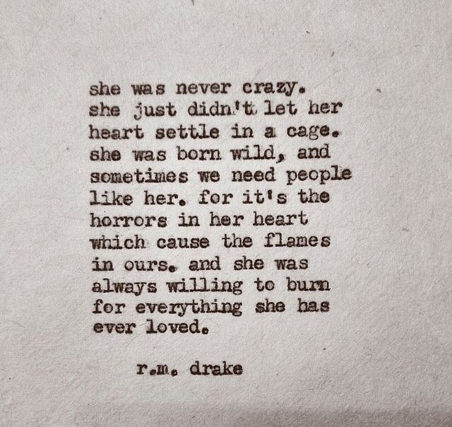 ♥ she was never crazy - quote - words - poetry