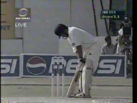 Sachin scored 186 runs against kiwis at Hyderabad (L.B. Stadium). I watched the match live :)