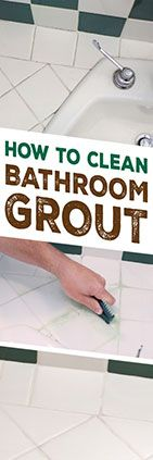 Need+help+cleaning+bathroom+grout?+Check+out+this+tip+from+Simple+Green.+#SimpleGreen