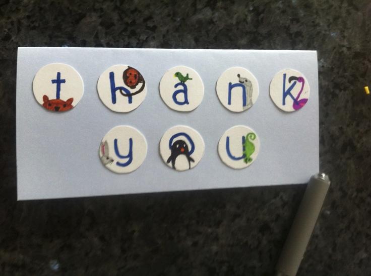 A little thank you.