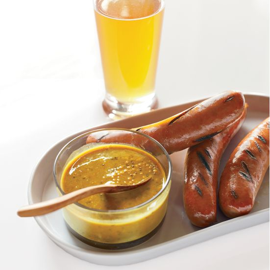 Chef Jeremy Nolen updates German classics at Brauhaus Schmitz in Philadelphia, including this intense mustard for sausages.   More Condiment Reci...