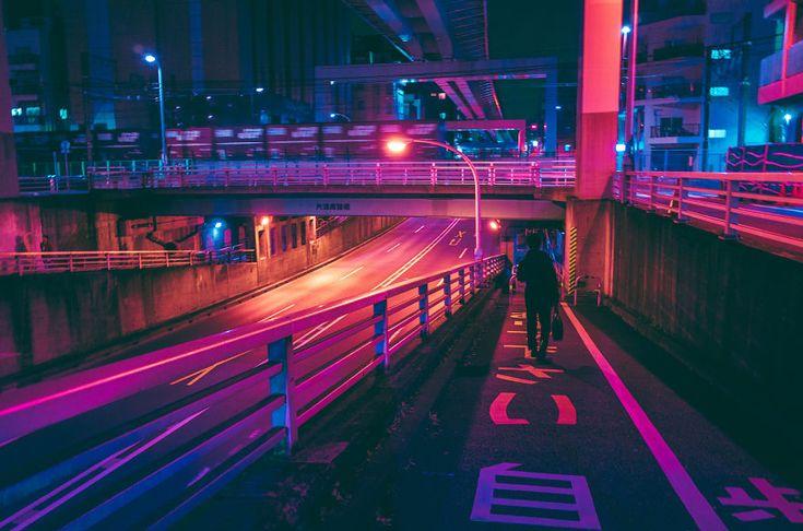 Fotografias fabulosas de ruas de Tóquio à noite por Masashi Wakui