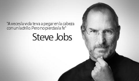 Las 15 frases de Steve Jobs.Las 9 lecciones  de Steve Jobs para un proyecto en el tercer aniversario de su muerte
