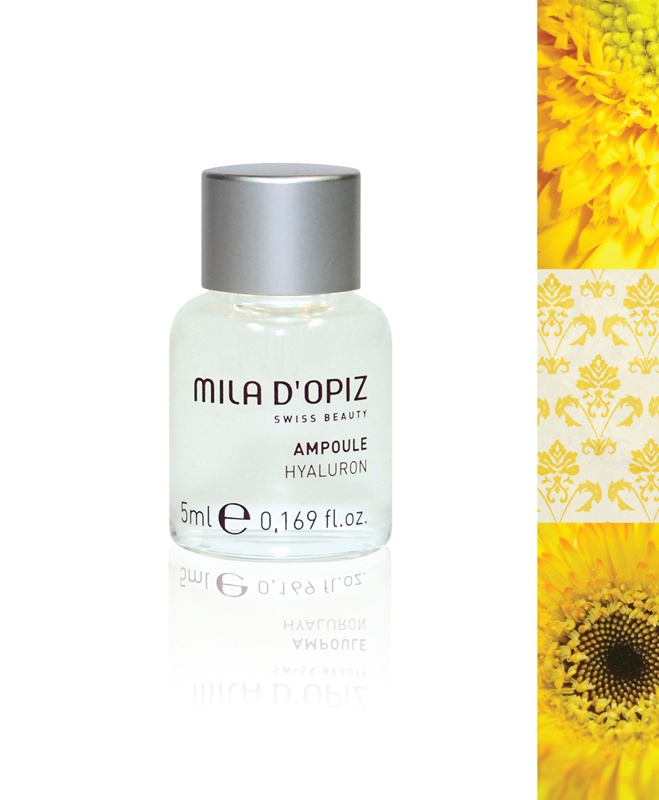 Mila d'Opiz Australia - Concentrate Collection Hyaluron. The ultimate moisturising factor. Restores radiance. Suitable for all skin types.