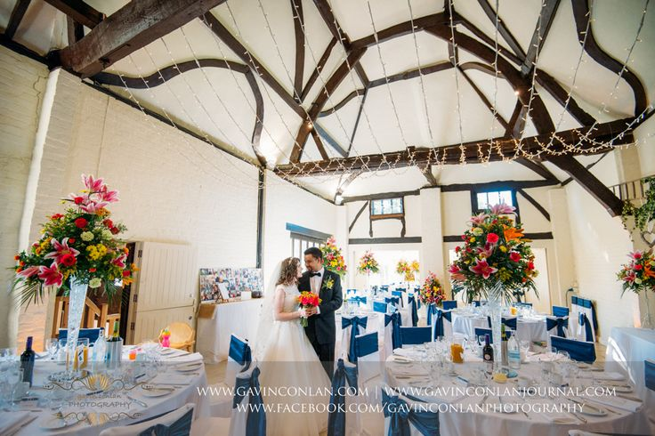 Wedding photography at Nether Winchendon Houseby gavin conlan photography Ltd. Stunning colours and a fairy light canopy, back drop to a gorgeous couple!