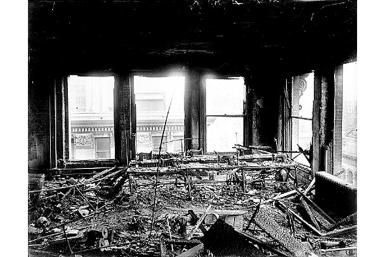 Quick Overview of the Triangle Shirtwaist Factory Fire: Triangle Shirtwaist Factory after the March, 1911, fire.