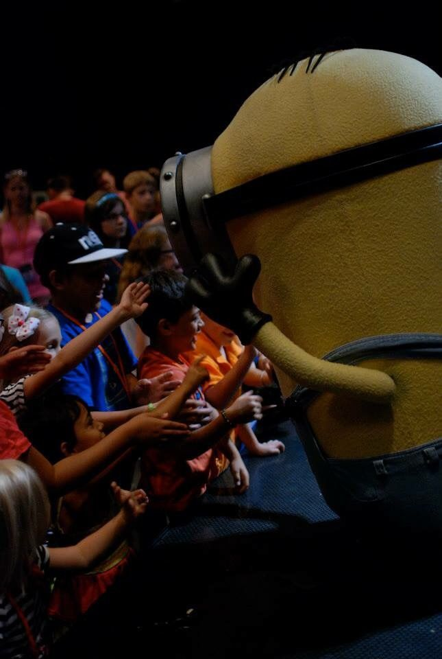 We Love Minions #The7thMinion #ad. See how much fun we had dancing with Minions at Universal Studios Florida