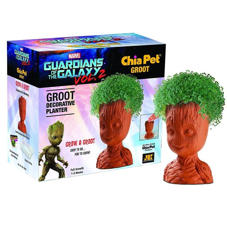 Marvel Guardians of the Galaxy Chia Pet Grass Planter: Groot, Multi