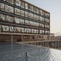 """Red Sea Institute of Cinematic Arts """"RSICA"""" / s y m b i o s i s design Courtesy of s y m b i o s i s  designs ltd"""