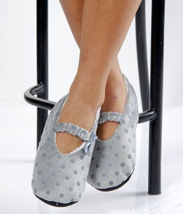 Bizarro Women's Footies - Grey