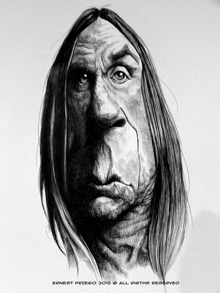 Iggy Pop by Ernest Priego