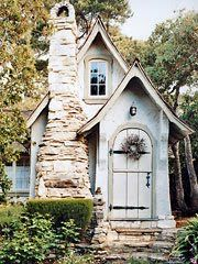 A fairy tale cottage playhouse!