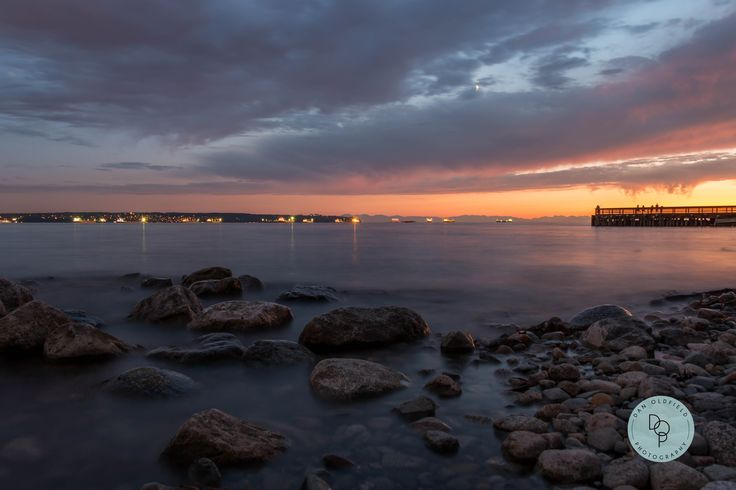 Witnessed and amazing sunset in West Vancouver!  #danoldfieldphotography #vancouver #canada #photographer