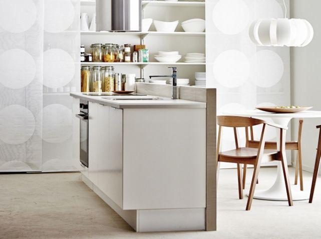 1000 id es propos de paravent ikea sur pinterest for Jolie cuisine ouverte