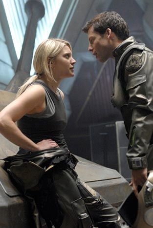 Love this feisty relationship and the one and only - Kara Thrace.