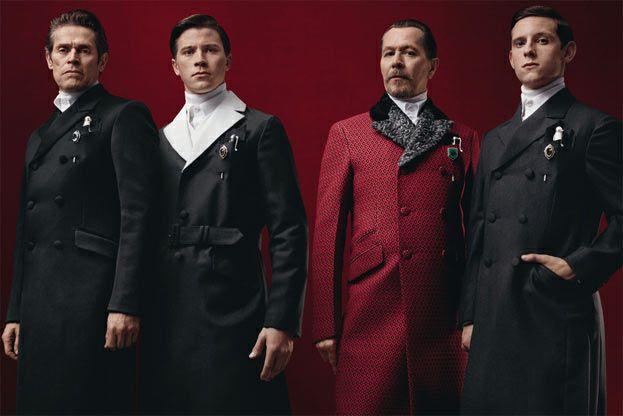 Prada Fall/Winter 2012 Campaign Starring Gary Oldman, Garrett Hedlund, Jamie Bell and Willem Dafoe