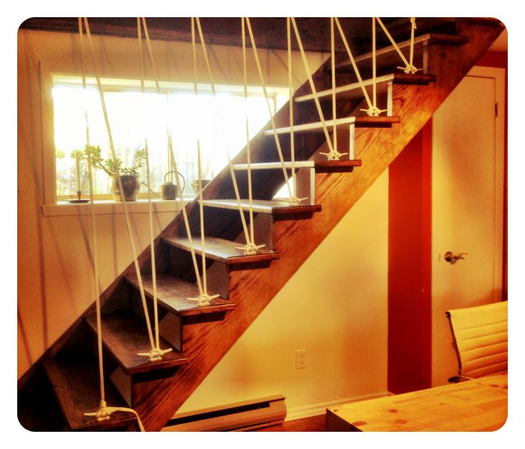 Rampe D 39 Escalier En Cordage A Bateau A D K Pinterest