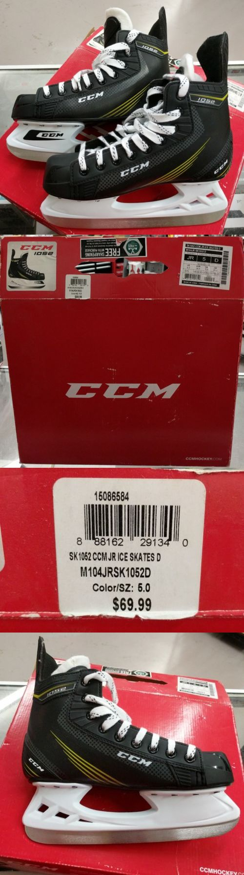 Ice Hockey-Adult 20858: Ccm Tacks 1052 Ice Skate - Junior 5 -> BUY IT NOW ONLY: $42.99 on eBay!