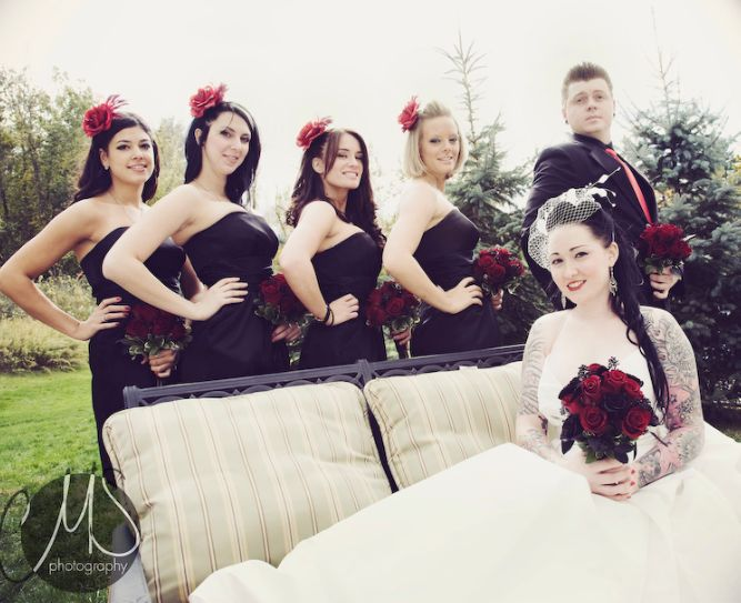 #Rockabilly #wedding Idea.