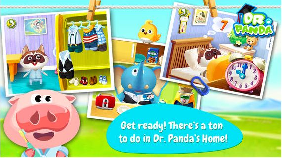 Check Dr. Panda's Home TribePlay- an app for 3+ kids with a set of virtual home/housework related activities. 20 activities: e.g. hang laundry, mop the floor, make breakfast etc.  Kids can learn and enjoy ( yes! enjoy) everyday chores. #appsforkids