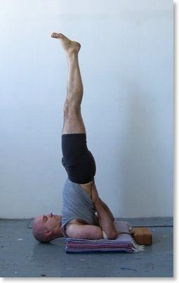 shoulder stand 1  increase height yoga for men basic