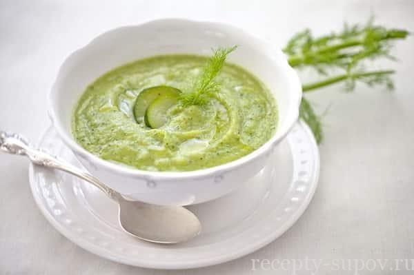 Суп-пюре из кабачков и картофеля: пошаговый рецепт с фото
