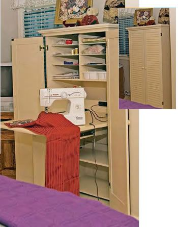 Sewing Armoire Idea