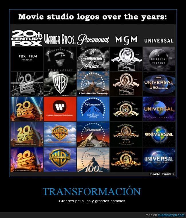 TRANSFORMACIÓN - Grandes películas y grandes cambios