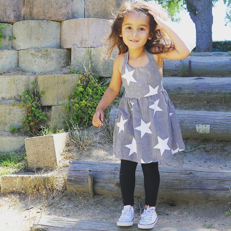 Toddler Girl Fashion Star dress