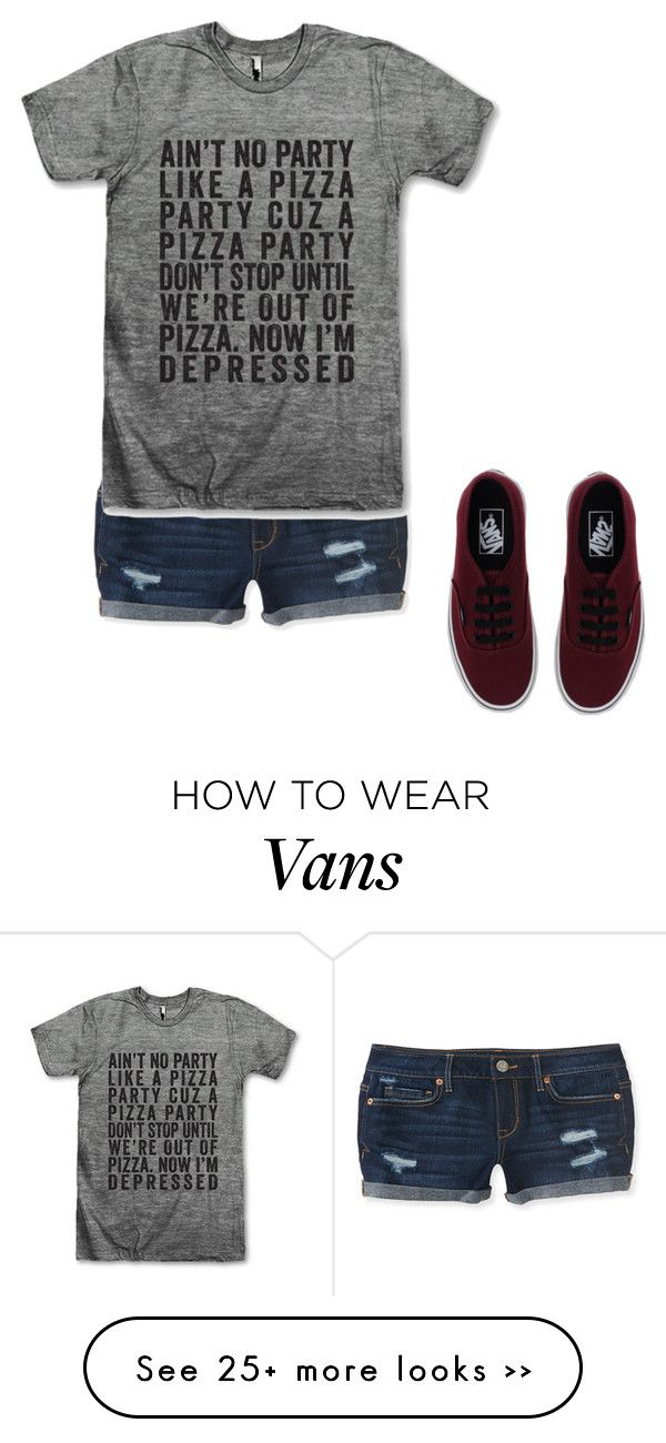"""Untitled #511"" by nicola-882 on Polyvore featuring mode, Aéropostale et Vans"