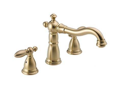 Victorian Deck Mount Roman Tub Faucet Trim