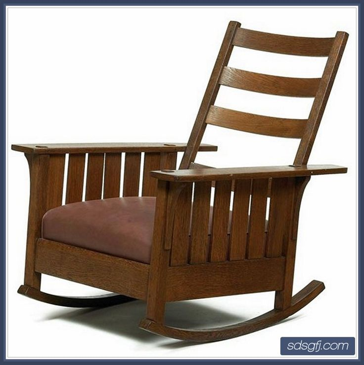 Leather Rocking Chair Design Idea - http://sdsgfj.com/stickley-leather ...