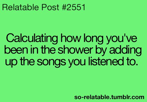 I thought I was the only one..