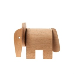Areaware - Dove tail træ legetøjsdyr - Elefant - Træ dyr