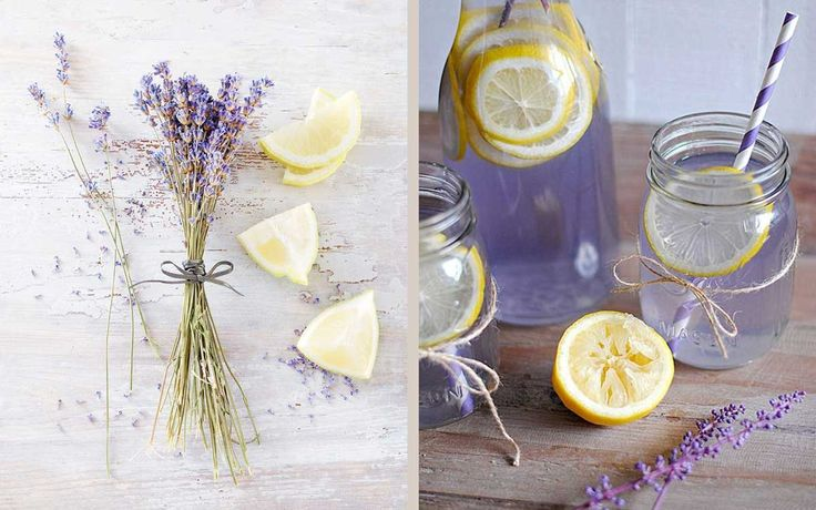 Limonada de lavanda