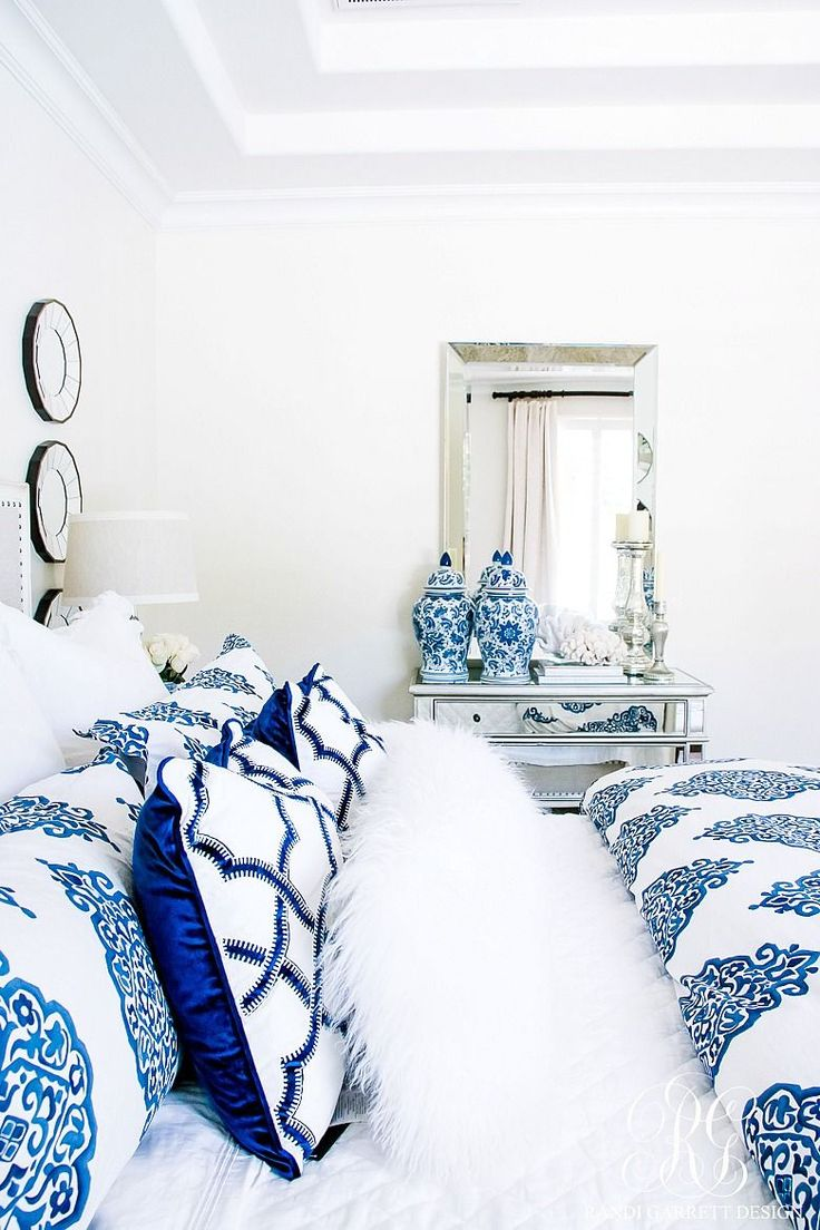 Best 25+ Blue and white bedding ideas on Pinterest
