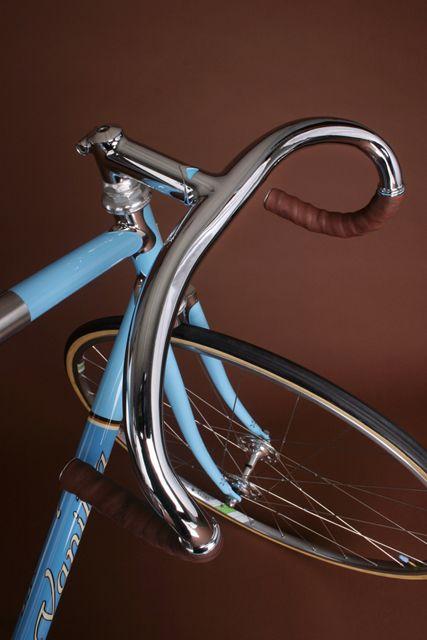 """Track"" bike from Vanilla Bicycles, Portland, OR. WAAAAAY too nice for the track."