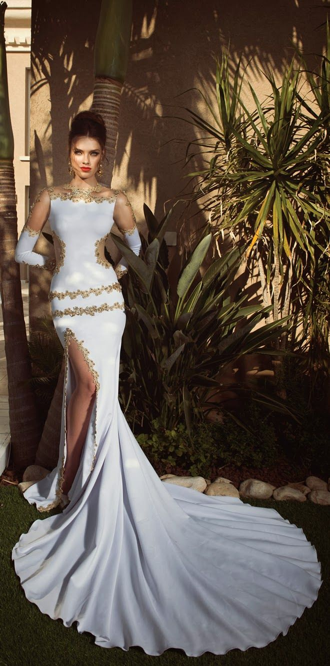 Wedding Dresses by Oved Cohen 2014 Collection | <3<3